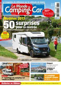Le Monde du Camping-Car - août 2016