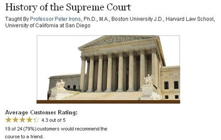 TTC Video - History of the Supreme Court