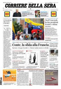 Corriere della Sera – 24 gennaio 2019