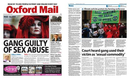 Oxford Mail – January 08, 2020