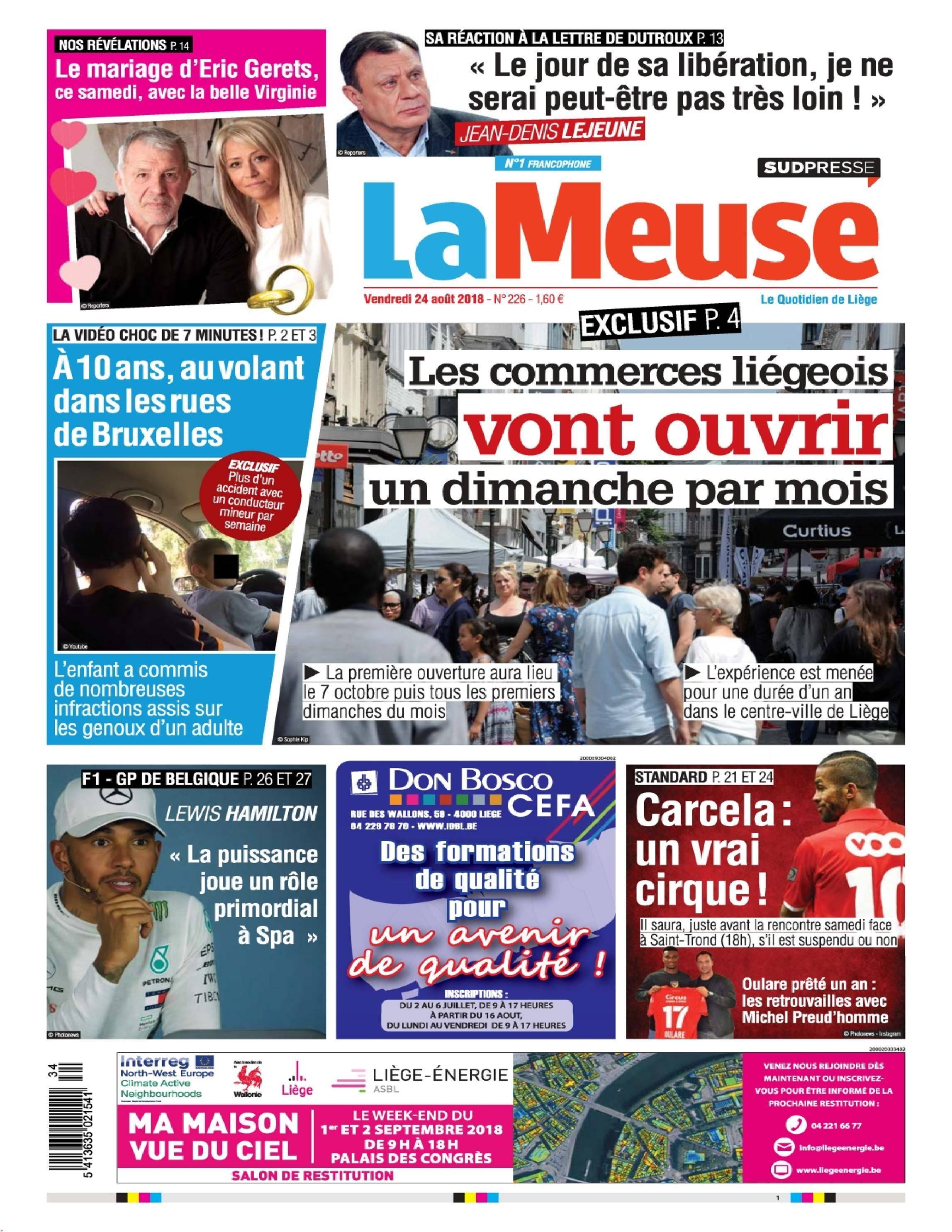 La Meuse - 24 août 2018