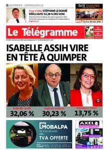 Le Télégramme Ouest Cornouaille – 16 mars 2020