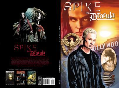 Spike vs Dracula 2007, 2nd print digital The Magicians