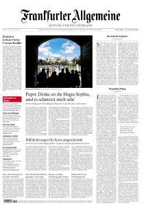 Frankfurter Allgemeine Zeitung - 13 Juli 2020