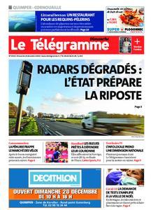 Le Télégramme Ouest Cornouaille – 20 décembre 2020