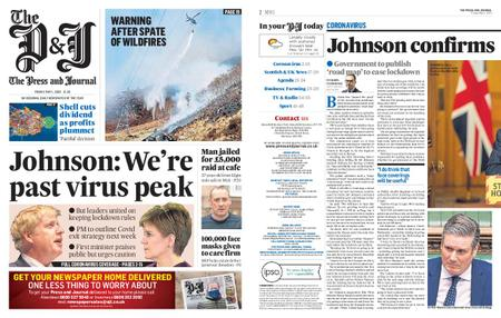 The Press and Journal Moray – May 01, 2020
