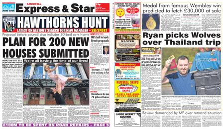 Express and Star Sandwell Edition – April 02, 2019