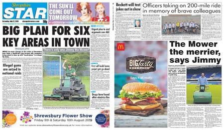 Shropshire Star Shrewsbury Edition – July 27, 2019