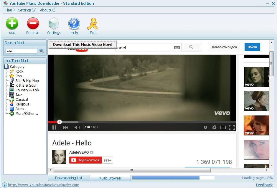 Youtube Music Downloader 9.9.3.0