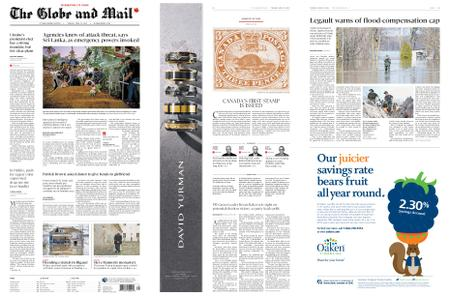 The Globe and Mail – April 23, 2019