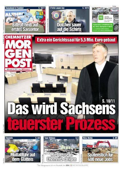 Chemnitzer Morgenpost - 8 Februar 2017
