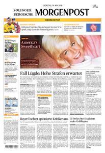 Solinger Morgenpost – 14. Mai 2019