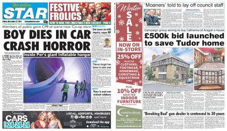 Shropshire Star Shrewsbury Edition – December 22, 2017