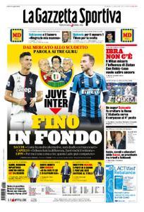 La Gazzetta dello Sport – 02 febbraio 2020