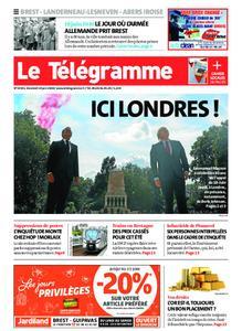 Le Télégramme Brest Abers Iroise – 19 juin 2020