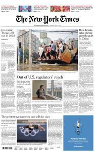 International New York Times - 27 July 2021
