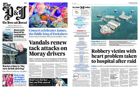 The Press and Journal Moray – October 11, 2018