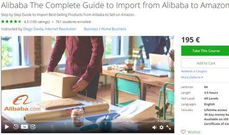 Alibaba The Complete Guide to Import from Alibaba to Amazon