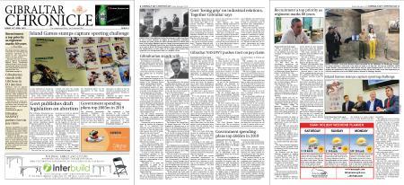 Gibraltar Chronicle – 26 April 2019