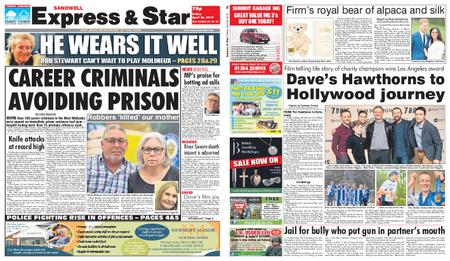 Express and Star Sandwell Edition – April 26, 2019