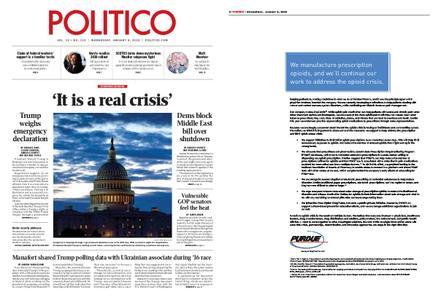 Politico – January 09, 2019