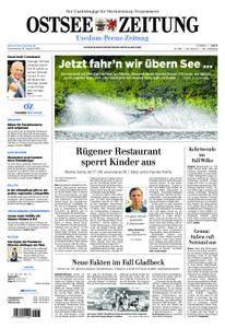Ostsee Zeitung Wolgast - 16. August 2018