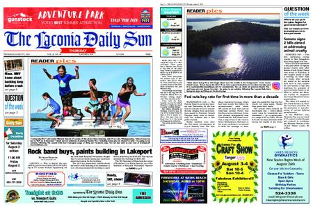 The Laconia Daily Sun – August 01, 2019