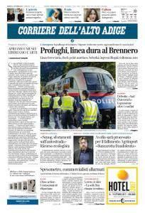 Corriere dell'Alto Adige - 14 Ottobre 2017
