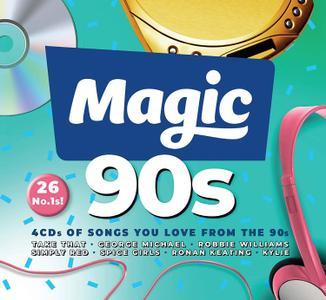 VA - Magic 90s (4CD, 2019)