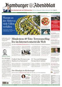 Hamburger Abendblatt Harburg Stadt - 16. März 2019