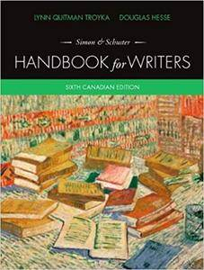 Simon &Schuster Handbook for Writers, Sixth Canadian Edition