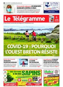 Le Télégramme Ouest Cornouaille – 27 novembre 2020