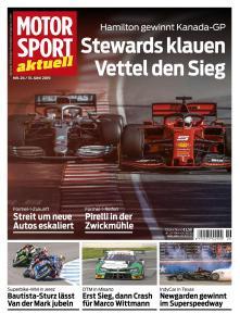 Motorsport Aktuell - 13 Juni 2019