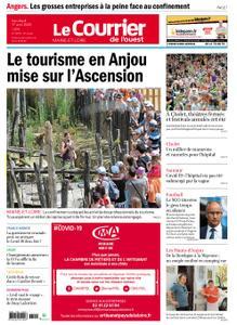 Le Courrier de l'Ouest Angers – 17 avril 2020