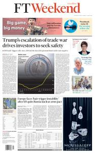 Financial Times Asia - August 3, 2019