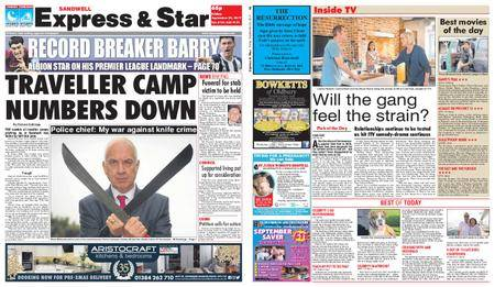 Express and Star Sandwell Edition – September 22, 2017