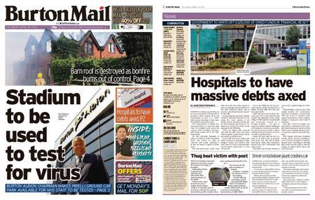 Burton Mail – April 18, 2020