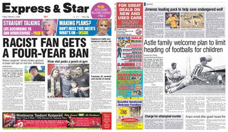 Express and Star City Edition – February 07, 2020