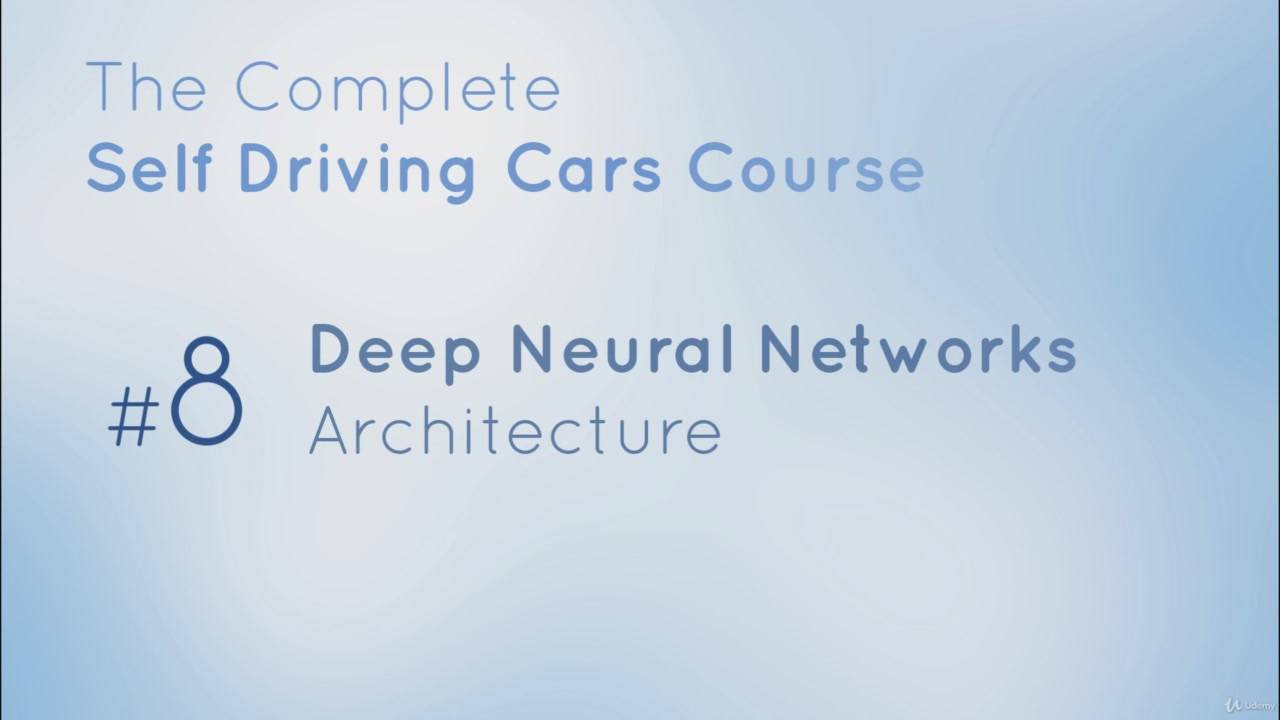 The Complete Self-Driving Car Course - Applied Deep Learning (2018)
