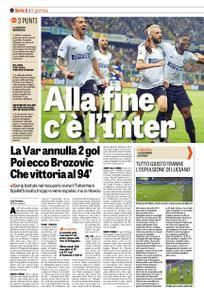 La Gazzetta dello Sport – 23 settembre 2018
