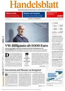 Handelsblatt - 18. Oktober 2017