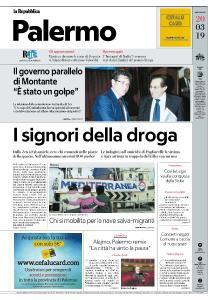 la Repubblica Palermo - 20 Marzo 2019