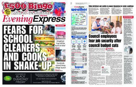 Evening Express – November 18, 2017