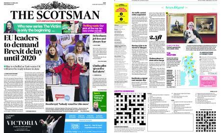 The Scotsman – April 10, 2019