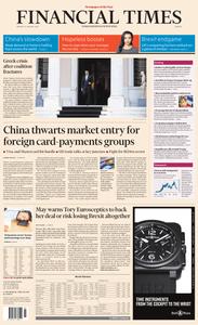 Financial Times Europe – 14 January 2019