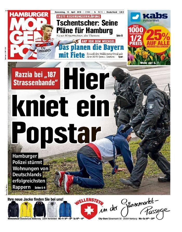 Hamburger Morgenpost - 12. April 2018