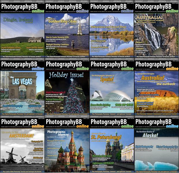 PhotographyBB Online Magazine 2008-2009 (All Issues)