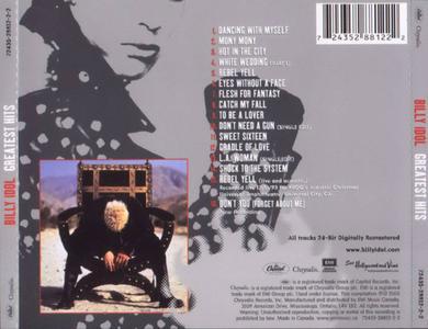 Billy Idol - Greatest hits (2001)
