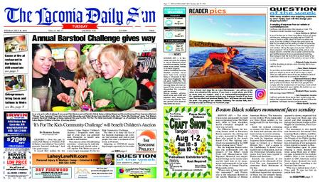 The Laconia Daily Sun – July 28, 2020