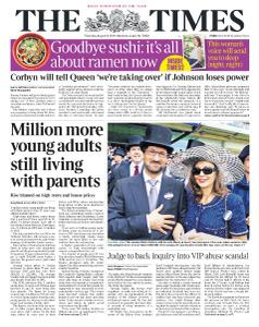 The Times - 8 August 2019